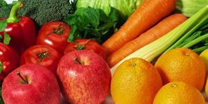Na ovocie a zeleninu