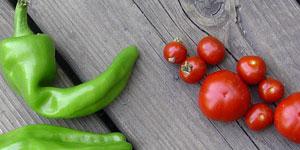 Paradajky a papriky