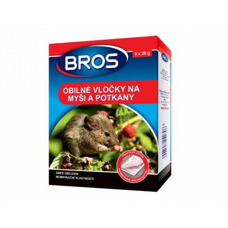 BROS obilné vločky na myši a potkany 5x20g
