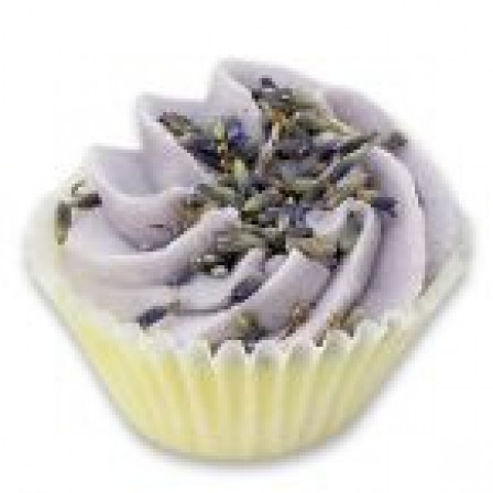Torta do koupele- Cupcake 45g levandule a rozmarín