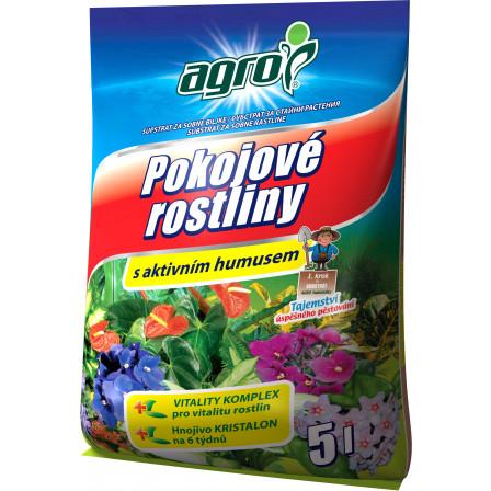 AGRO Sub. pro pokojové rostliny 5 l