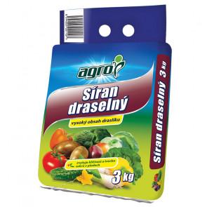 AGRO Síran draselný 3 kg