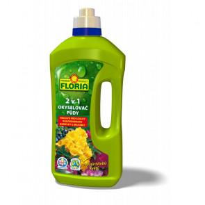 FLORIA Okyselovač půdy a kapalné hnojivo pro azalky a rododendrony 2v1 1l
