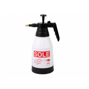 Rozprašovač tlakový SOLE 1,5l bílo-červený