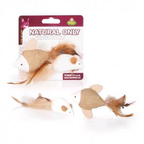 Natural Only - rybka a myška, 4cm