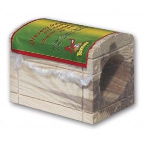 Domeček dřevěný - truhla