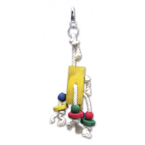 Hračka pro velké papoušky, 25cm