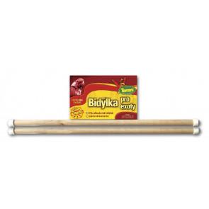 Dřevěné bidýlko pro exoty, 2 x 30 cm