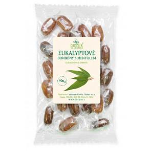 Eukalyptové bonbóny s mentolem 100g