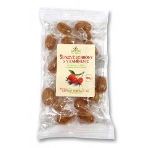 Šípkové bonbóny s vitamínem C 100g