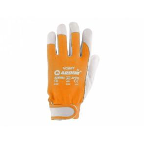 Pracovné rukavice HOBBY vel.9