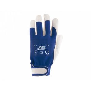 Pracovné rukavice HOBBY vel.10