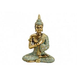 Buddha sediaci Polyresin 23x33x14cm