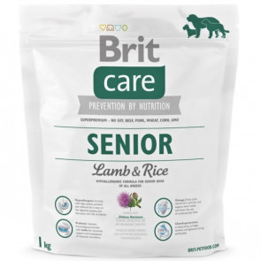 Brit Care Adult Senior Lamb & Rice 1kg