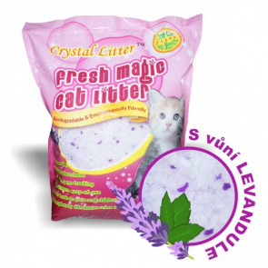 Crystal Litter Cat levandule 3,8l/1,7kg