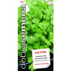 Dobrá semena Koriandr- Calypso 2g