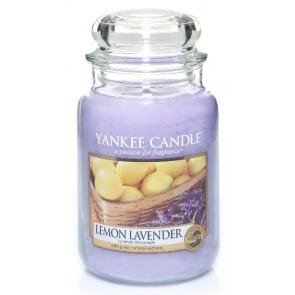 YANKEE CANDLE Classic veľký - Lemon Lavender 625g