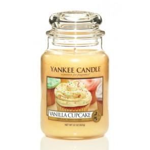 YANKEE CANDLE Classic veľký - Vanilla Cupcake 625g