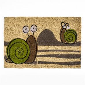Kokosová rohožka barevná ŠNECI 40x60 cm