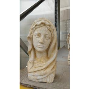 Panna Marie-busta pieskovec 210mm