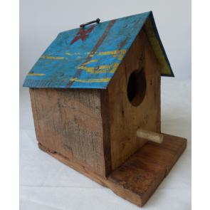 Vtáčia búdka drevo / plech 20x20cm