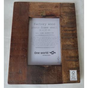 Fotorámik drevený na foto 15x20cm