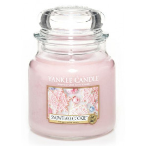YANKEE CANDLE Classic střední - Snowflake cookie