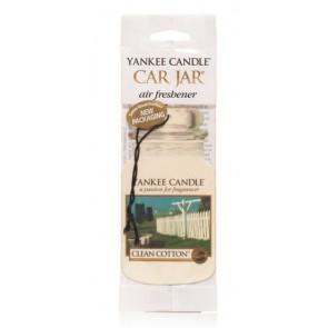 YANKEE CANDLE visačka do auta - Clean Cotton