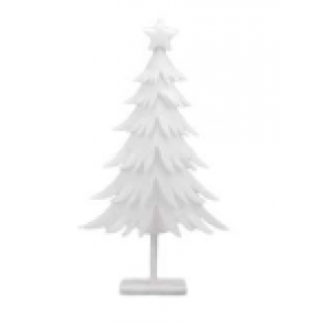 Dekorácia strom biela 44x85,5cm