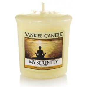 YANKEE CANDLE votívna sviečka - My serenity 50g