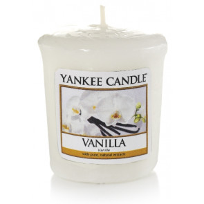 YANKEE CANDLE votívna sviečka - Vanilla 50g