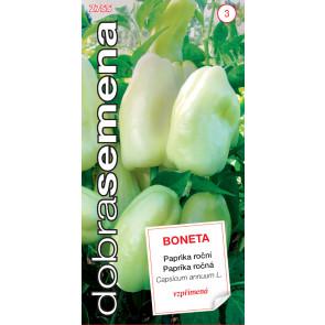 Dobrá semena Paprika zel. Boneta - vzpřímená 0,5g