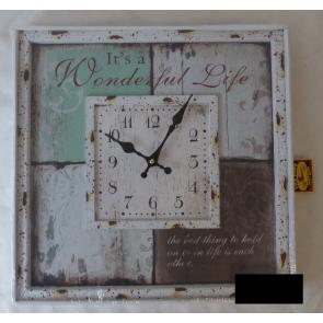 Nástenné hodiny 40x40cm