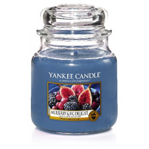 YANKEE CANDLE Classic stredná - Verbena Classic 411g