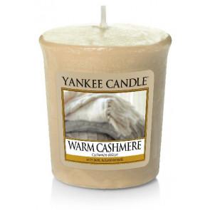YANKEE CANDLE votivní svíčka - Warm Cashmere 50g