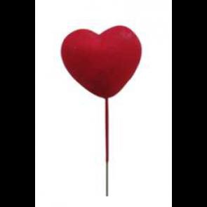 Dekorácia srdce na špajli