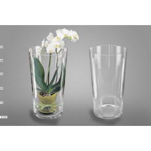 Sklenená váza Conical H45 D24 1ks