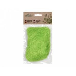 Sisalové vlákno 25g/světle zelené