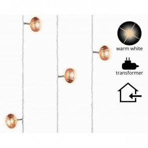 Světelný LED řetěz lampion