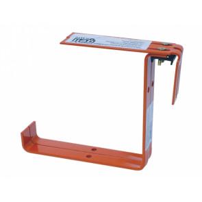Držák truhlíku kovový nastavitelný 2ks terakota