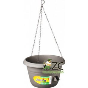 Žardina samozavlažovací Siesta závěs - antracit 25cm