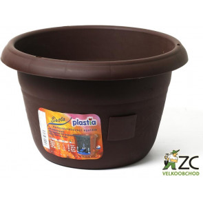 Žardina samozavlažovací Siesta bez závěsu- čokoláda 35cm