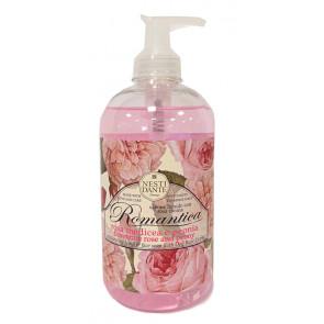 Dárkové tekuté mýdlo - růže s pivoňkou 500ml