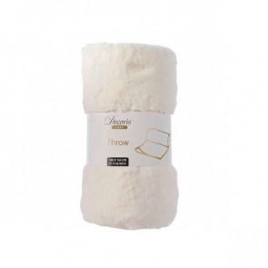 Prikrývka biely 130x150cm