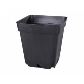 Kontejner pěstební plastový černý 13x13x13cm