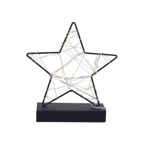 Hvězda na stojánku LED