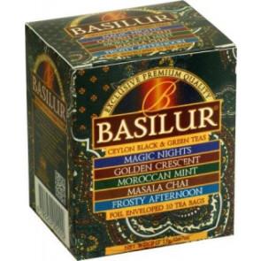 BASILUR Assorted Orient přebal 8x2g a 2x1,5g