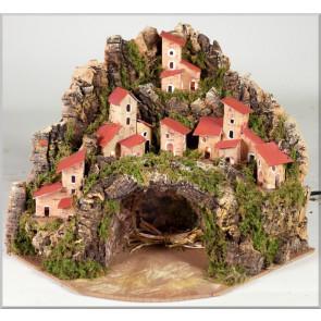 Betlehem jaskyne bez postáv