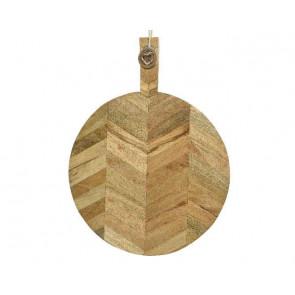 Lopárik z mangového dreva