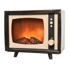 Dekorácia televízia s LED osvetlením